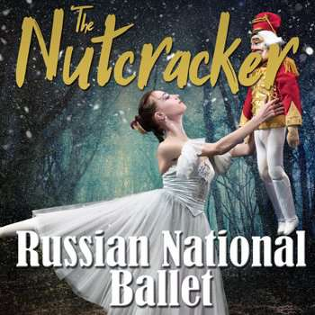The Nutcracker'Sunday 22 October 7.30pm'�26/ Concs �24'The beloved Christmas classic for the whole family.'Music by Pyotr I. Tchaikovsky'Russian National Ballet is coming to the UK with the beautiful premiere of Nutcracker Ballet. The new production will delight and mesmerise the audience.