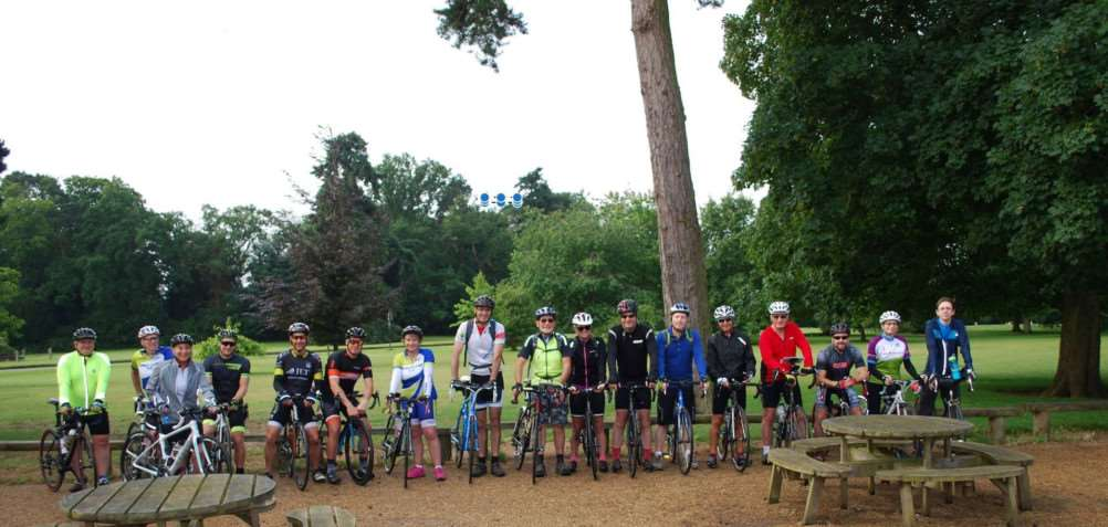 KLCC riders helped Trevor Riches celebrate his 80th birthday