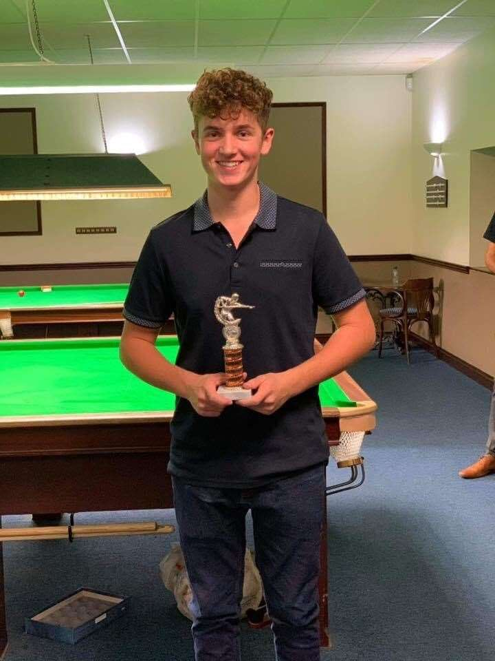 Alec Chalmers, of Great Bircham, won both the junior snooker and billiards championships (43119256)