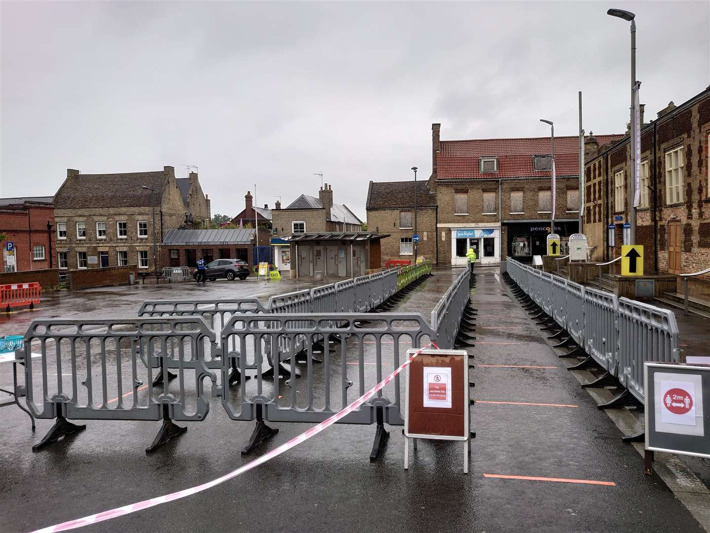 Downham Market's market will be closed for two weeks after reports of a demonstration allegedly surfaced on social media. Picture: Phoenix Events