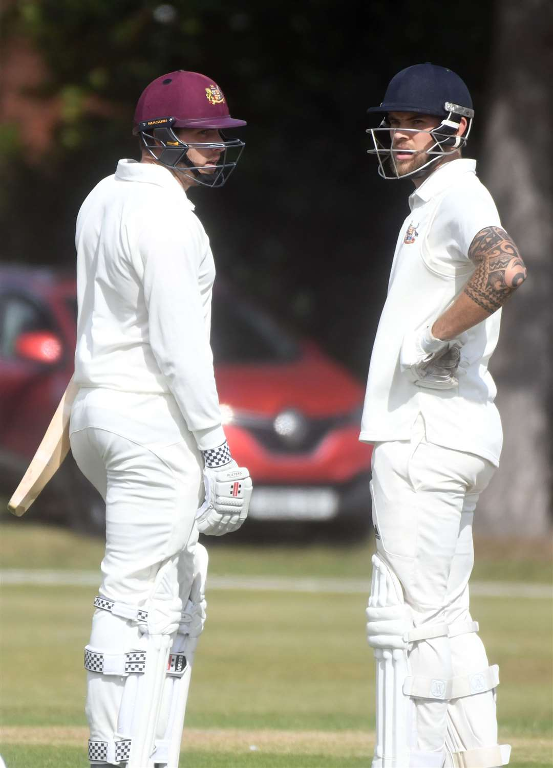 Fakenham v Stow cricket..Lloyd Marshall and Will Dunger. (15990978)