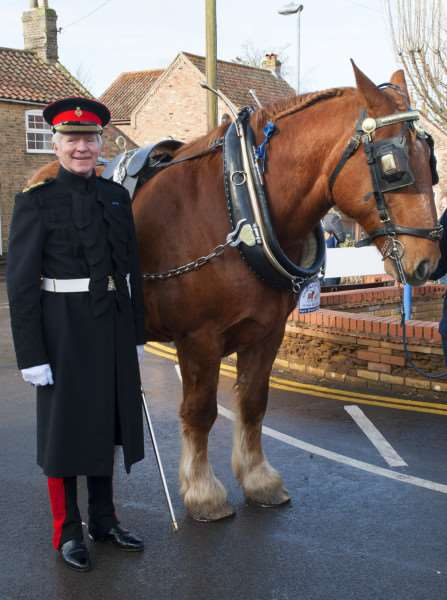St Winnolds Parade in Downham Market.Pictured High Sheriff James Bagge.