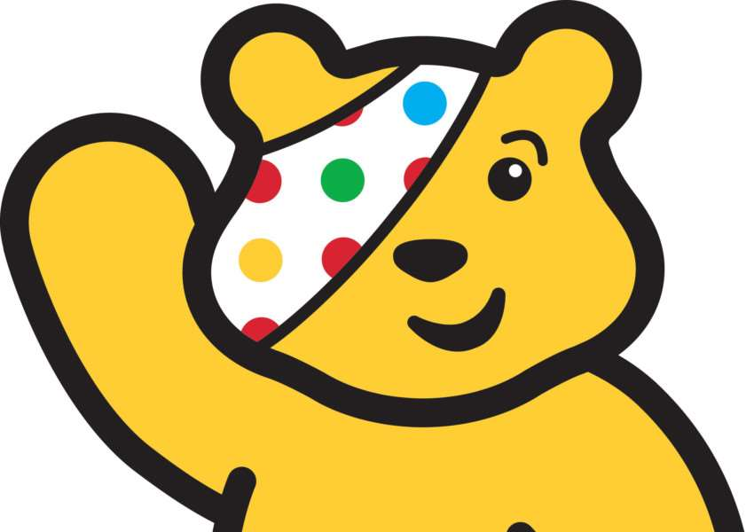 Pudsey Bear PHOTO: BBC Pictures