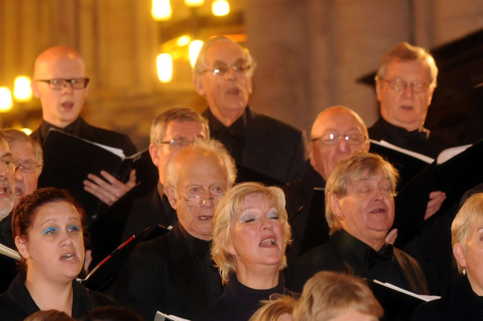 Kings Lynn Festival Chorus in rehearsals ahead of Saturday's night concert (7086370)