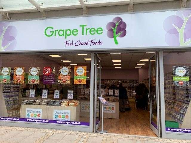 The Grape Tree shop which has opened in New Conduit Street in King's Lynn (8430745)