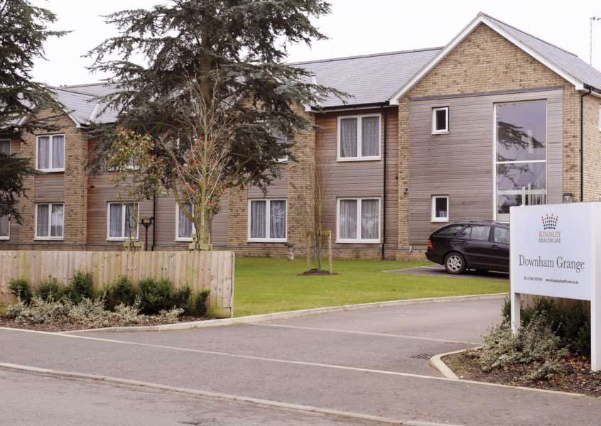 GV of Downham Grange Nursing Home at Downham Market