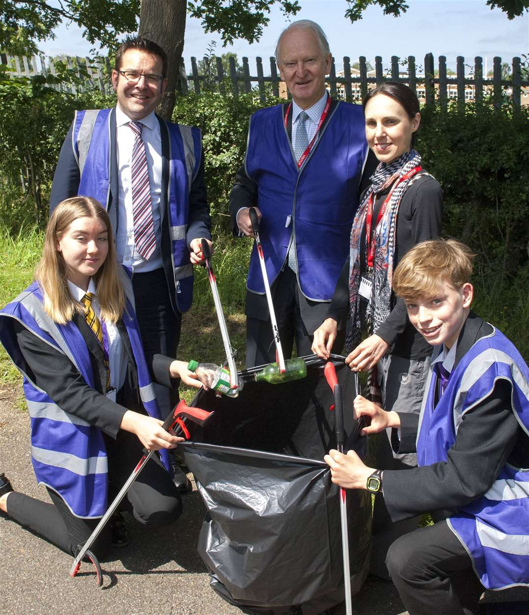 The borough council has agreed to install three bins in response to the campaign led by Adele Powell