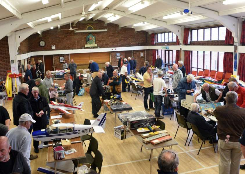 King's Lynn Aero Model Club Swap Meet at West Winch Village Hall
