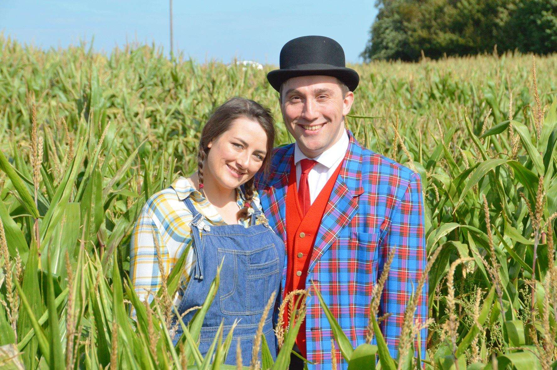 Ellie and Chris Hiam of the King's Lynn Players are to star in the group's new production of Oklahoma! at the King's Lynn Arts Centre soon. (4702735)