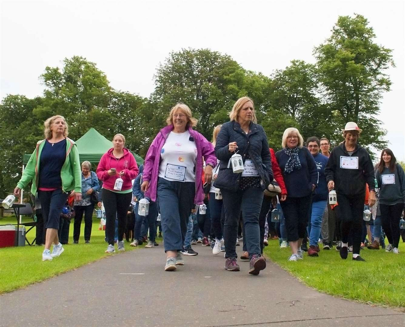 The Norfolk Tapping House lanten Walk. Pictured Participants starting the walk. (2454021)