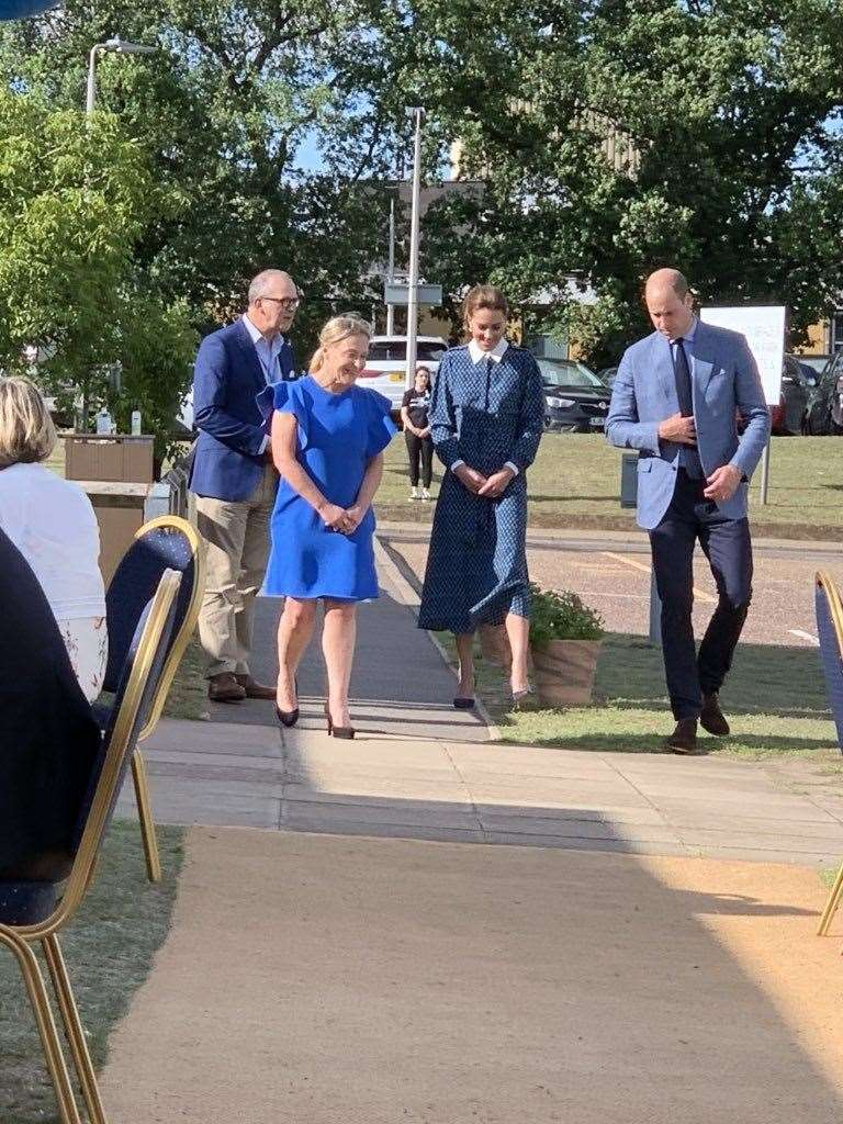 Duke and Duchess of Cambridge visit the Queen Elizabeth Hospital in King's Lynn for the 72nd anniversary of the NHS. (37880575)