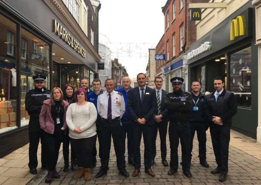 Representatives for Operation Wonderland who tackle retail crime and anti-social behaviour in King's Lynn town centre.