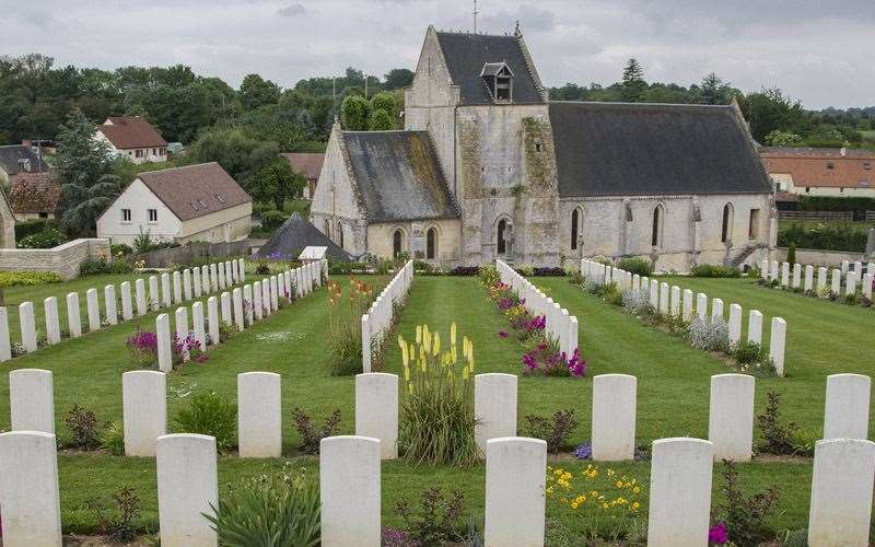 The British cemetery at Hermanville-sur-Mer (11906511)