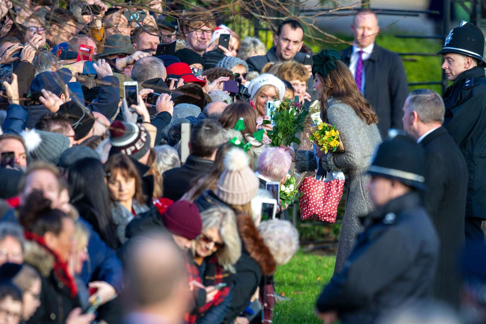 Prince Andrew skips Christmas Day walk after royals' 'bumpy' year