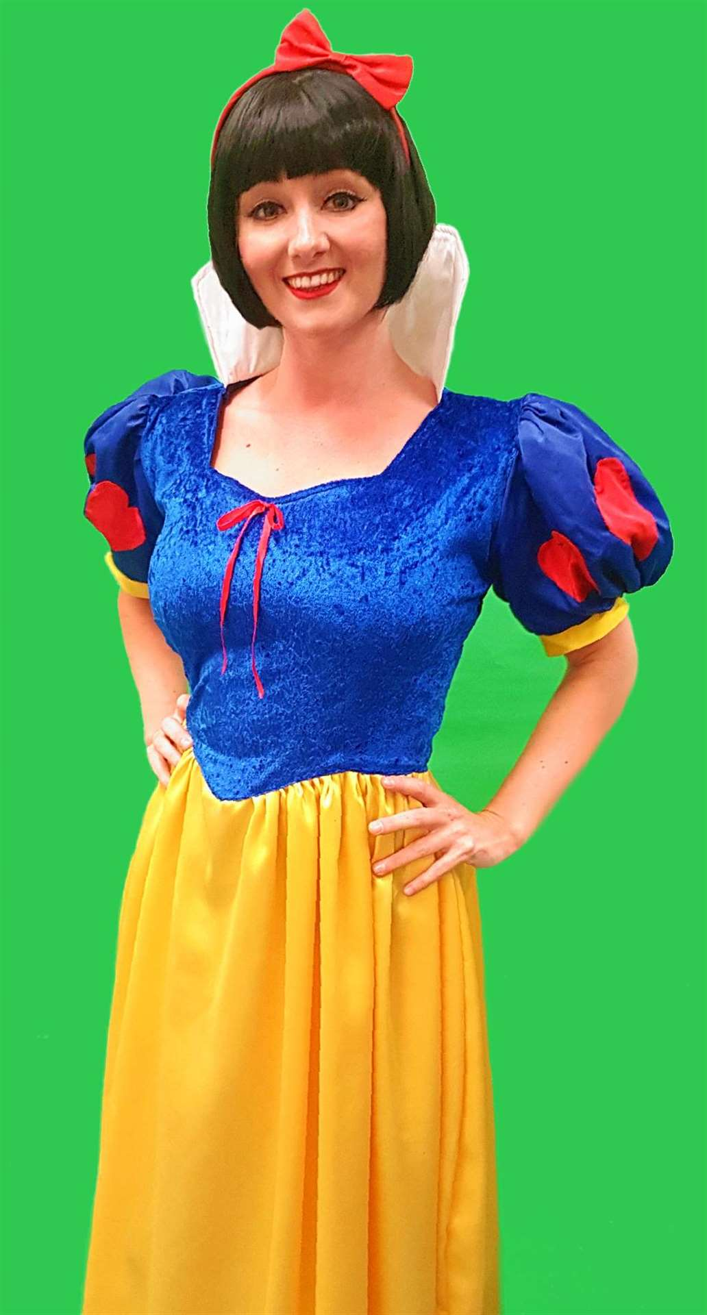 Helen Farrell as Snow White at the Princess Theatre in Hunstanton (5300862)