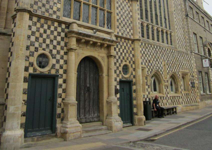 King's Lynn town hall, one of the buildings that will feature in the study day