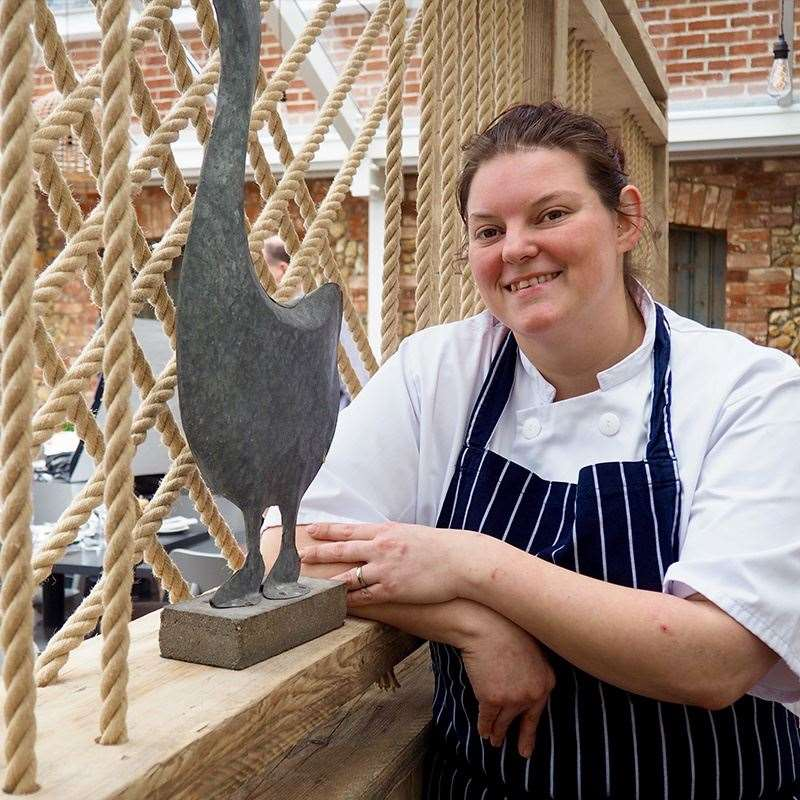 Fran Hartshorne, head chef at The White Horse, Brancaster Staithe (26075061)