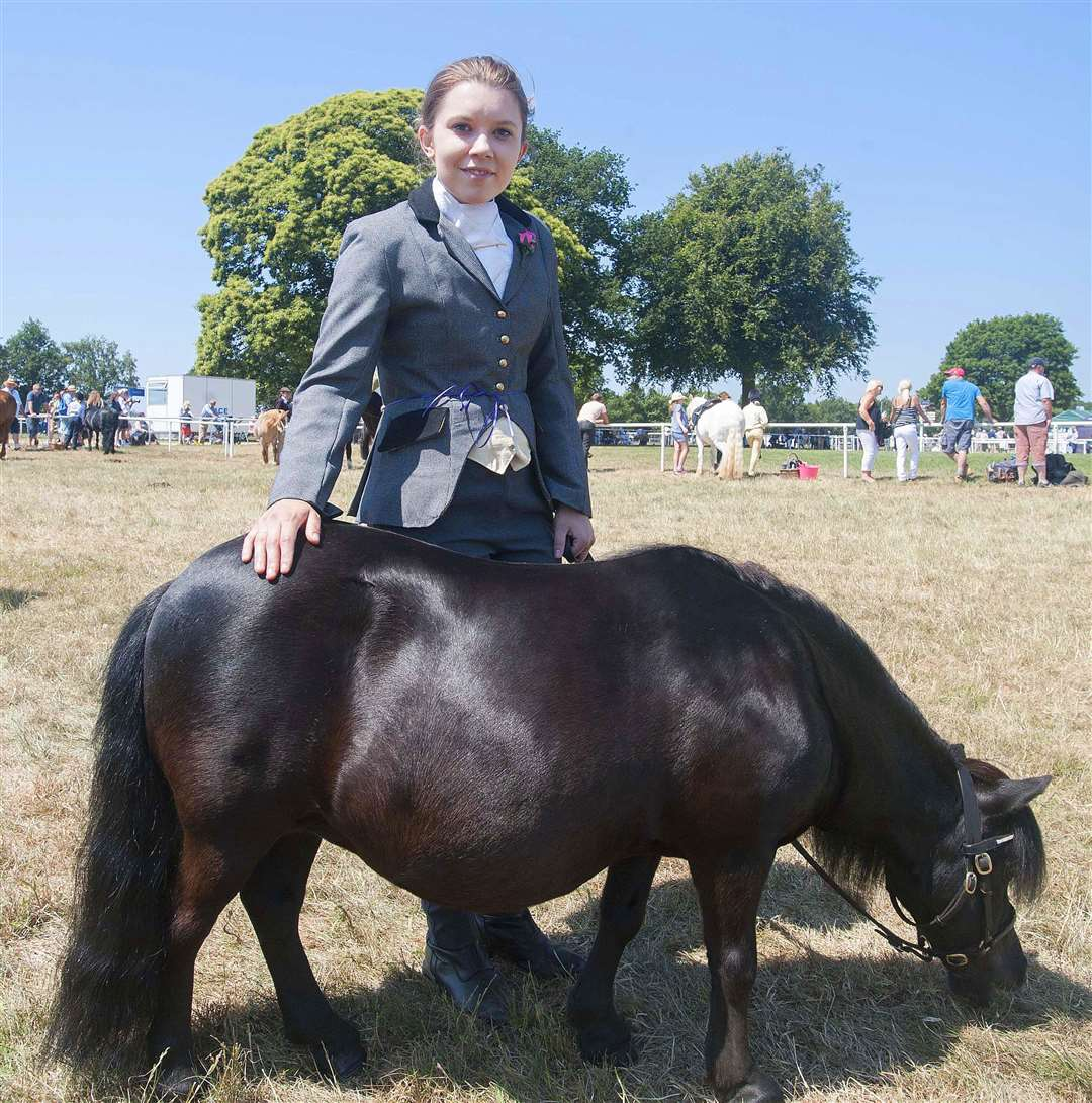 The Royal Norfolk Show PicturedKellie Moden with her horseTrip.. (2788477)