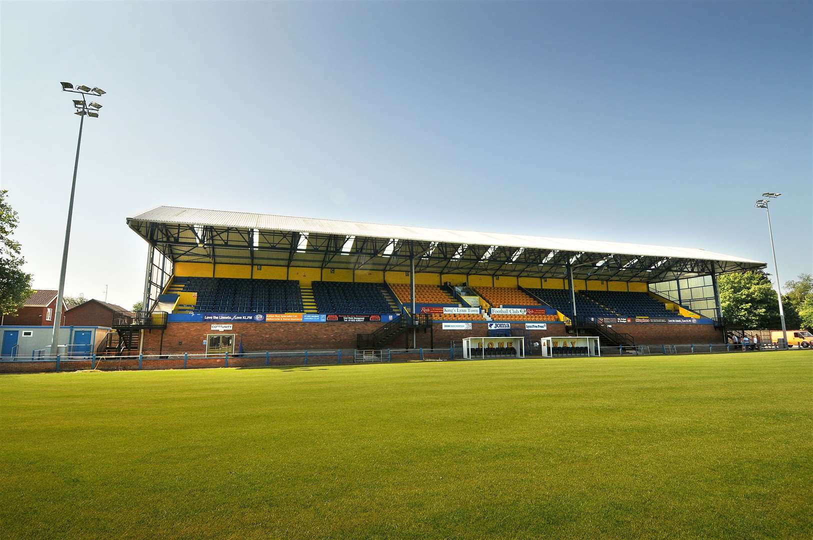 The Walks Stadium, where today's drop-in event is taking place
