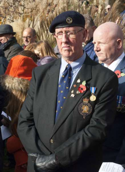 Remembrance Sunday Service Tower Gardens King's Lynn.
