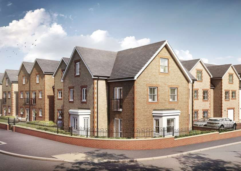 An image showing how the McCarthy and Stone's development Eastland Grange Retirement Living Plus in Hunstanton's Valentine Road is due to shape up.