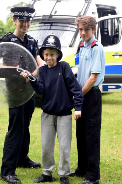 King's Lynn Lions Family Fun Day, The Walks ''Chris Ball, Tyler Pegg and Sam Doughty