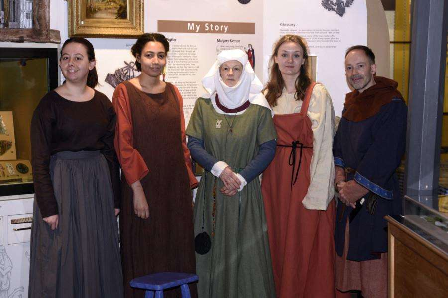 Medieval-themed day, Lynn Museum