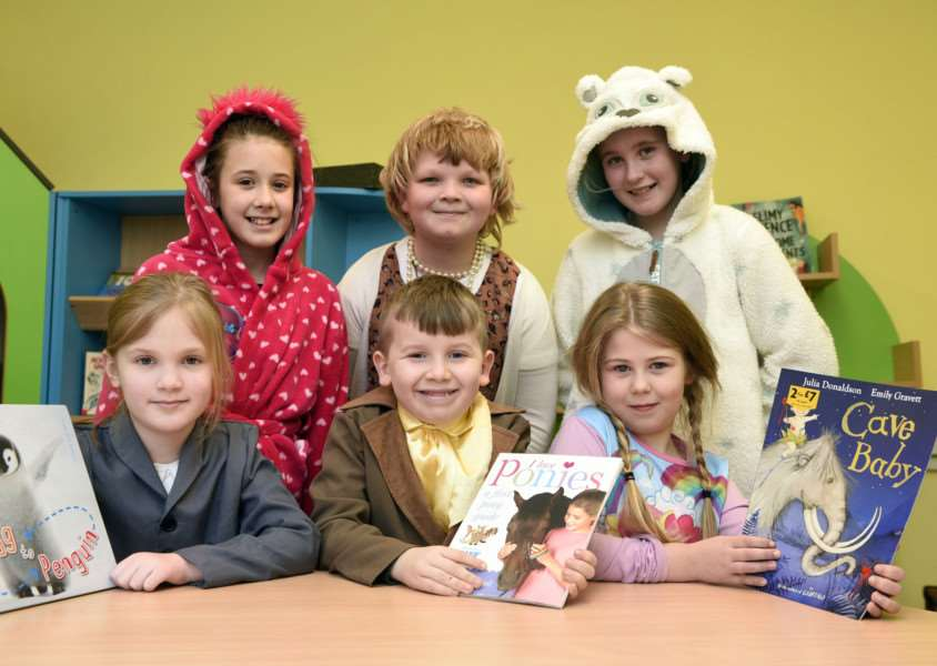 World Book day at Upwell School