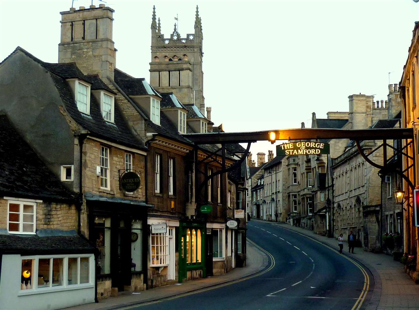The High Street at Stamford