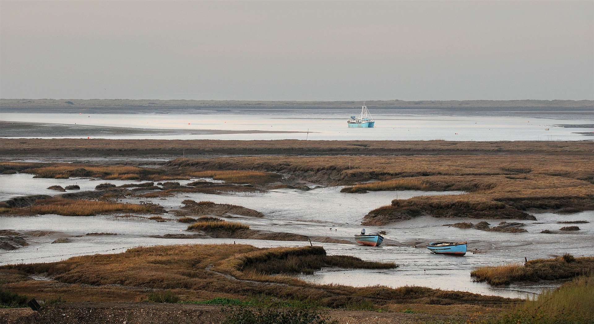 The view from The White Horse at Brancaster Staithe. (26077312)