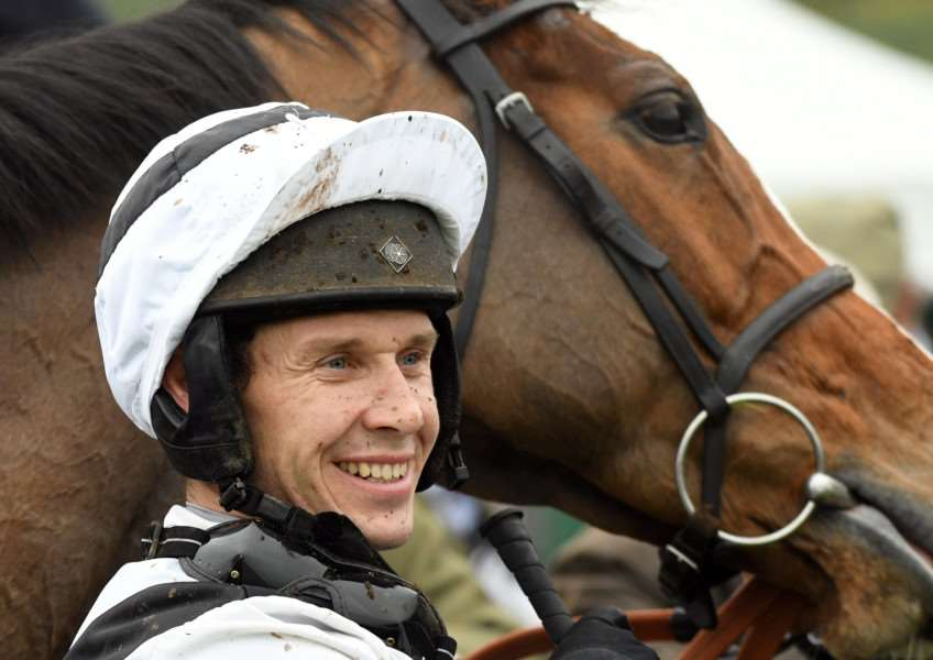 Fakenham horse racing''Race 2 Winner Champion Jockey Richard Johnson
