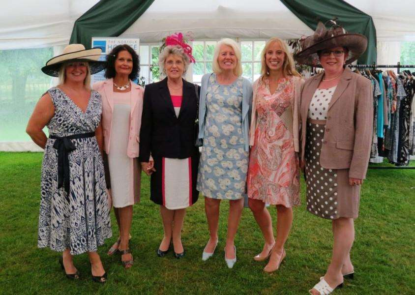 The Norfolk Hospice Ladies Day