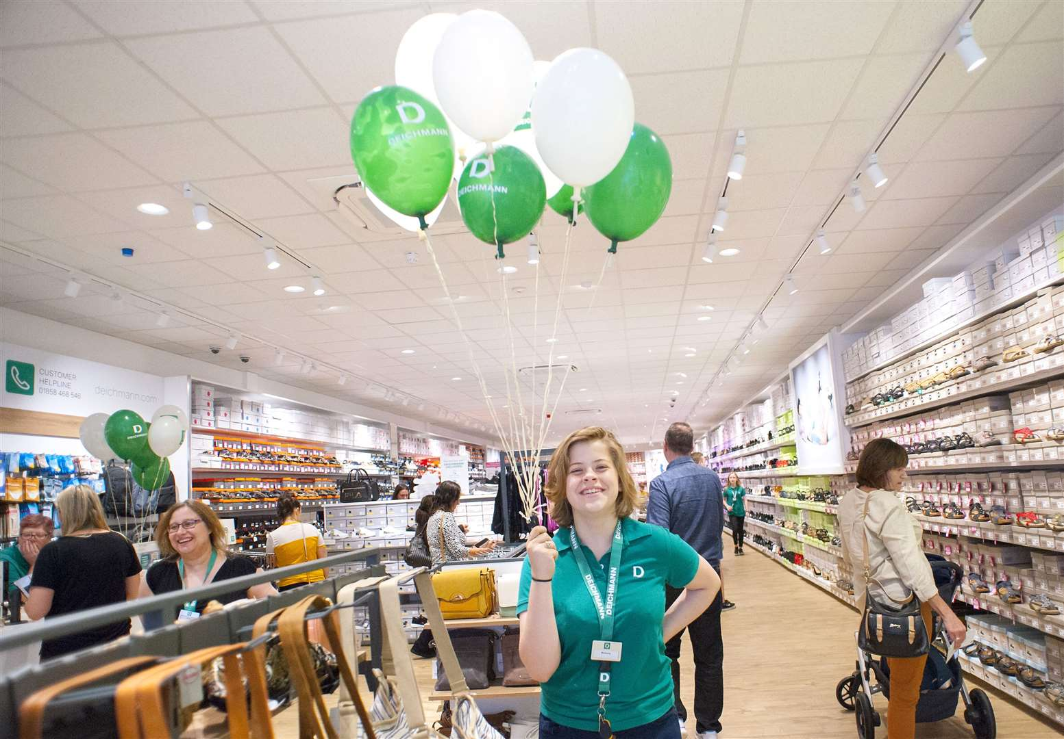 Opening of the Re-Furbished King's Lynn Deichmann Store.. (14858511)