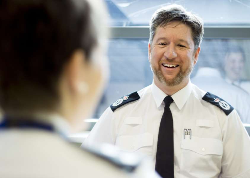 Norfolk Chief Constable Simon Bailey