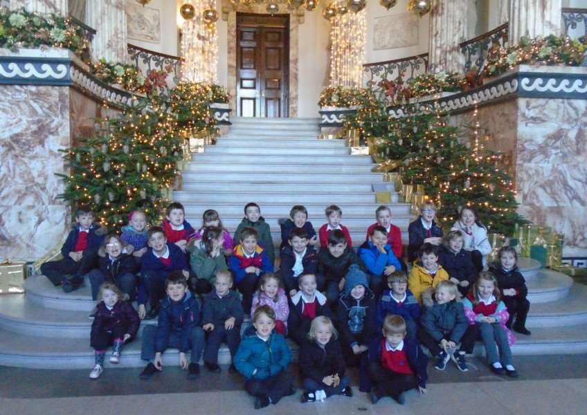 Brancaster Church of England Primary School pupils visit Holkham for end of year treat