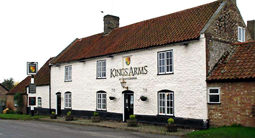 King's Arms in Shouldham, where an informal meeting of the action group will be held this evening. (3534260)