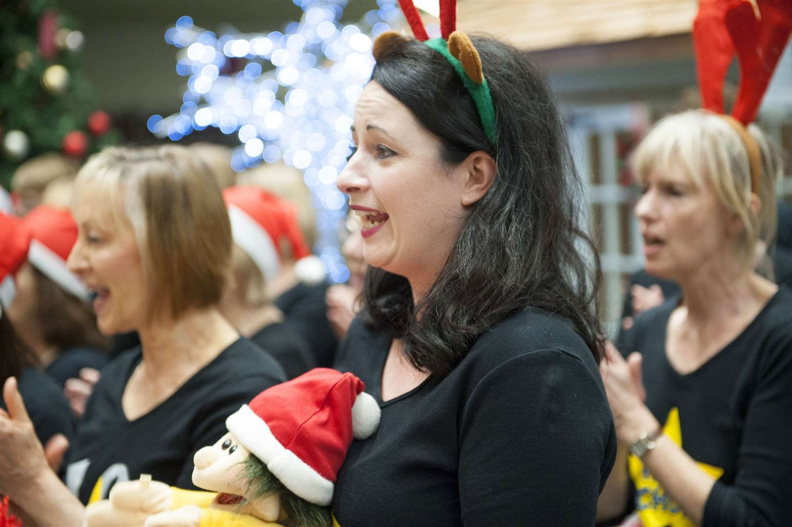 West Norfolk Rock Choir at Tesco Hardwick King's Lynn