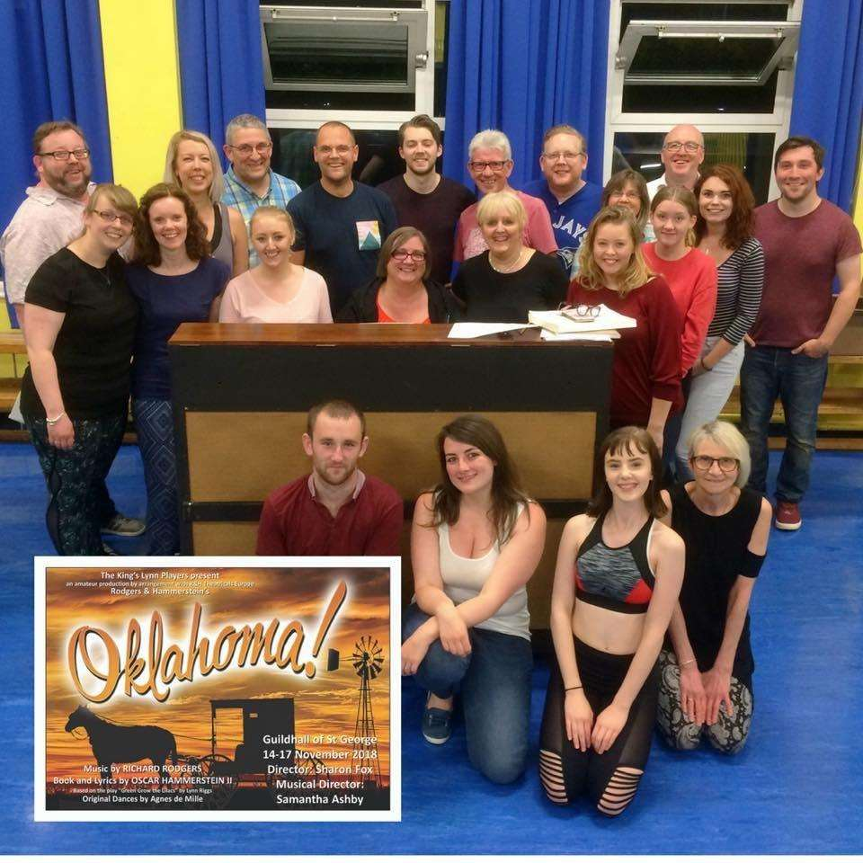 The cast of King's Lynn Players' production of Oklahoma! (4702773)