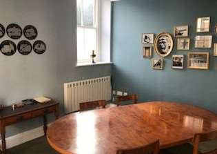 The Hanseatic Room at Ring Associates offices in Lynn's Tuesday Market Place.