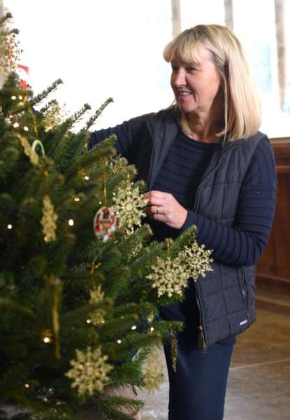 Christmas tree festival, St Clement's Church, Outwell''Victoria Brown