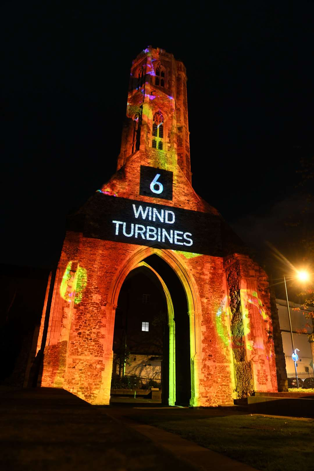 Greyfriars Tower on Sunday, October 25, 2020