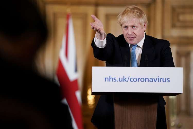 UK PM Johnson: No decisions on exact date of opening of schools class=