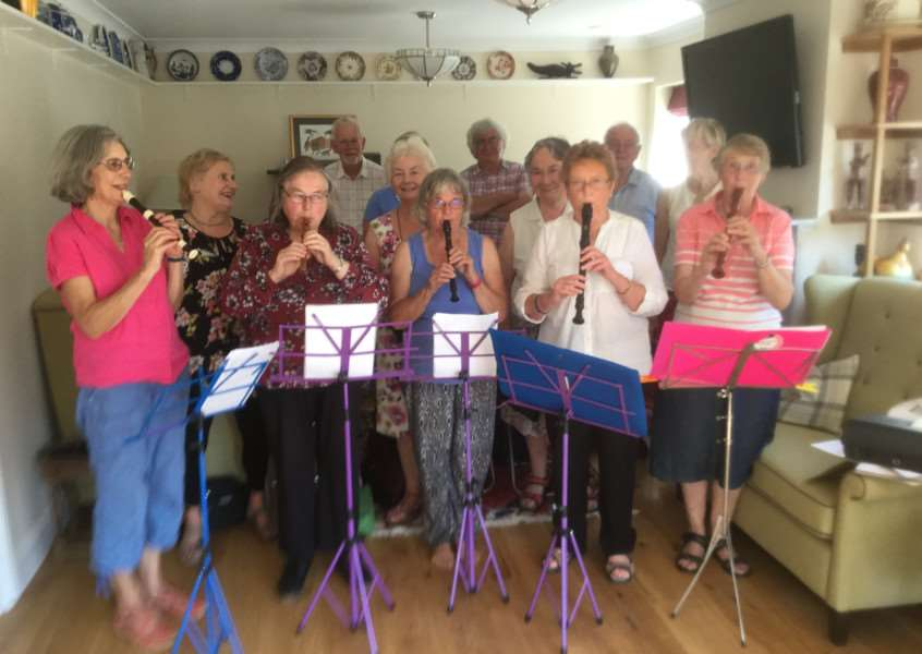 U3A Madrigal and Recorder Group will be performing in King's Lynn for Heritage Day.