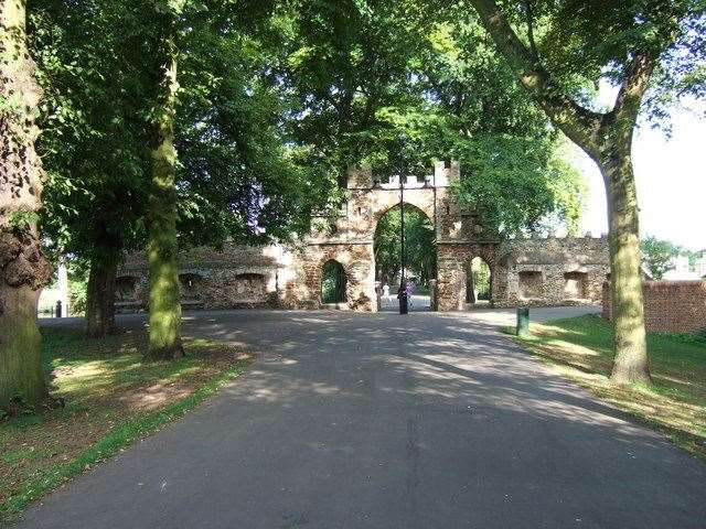 Medieval Gate, The Walks. Picture: Richard Humphrey