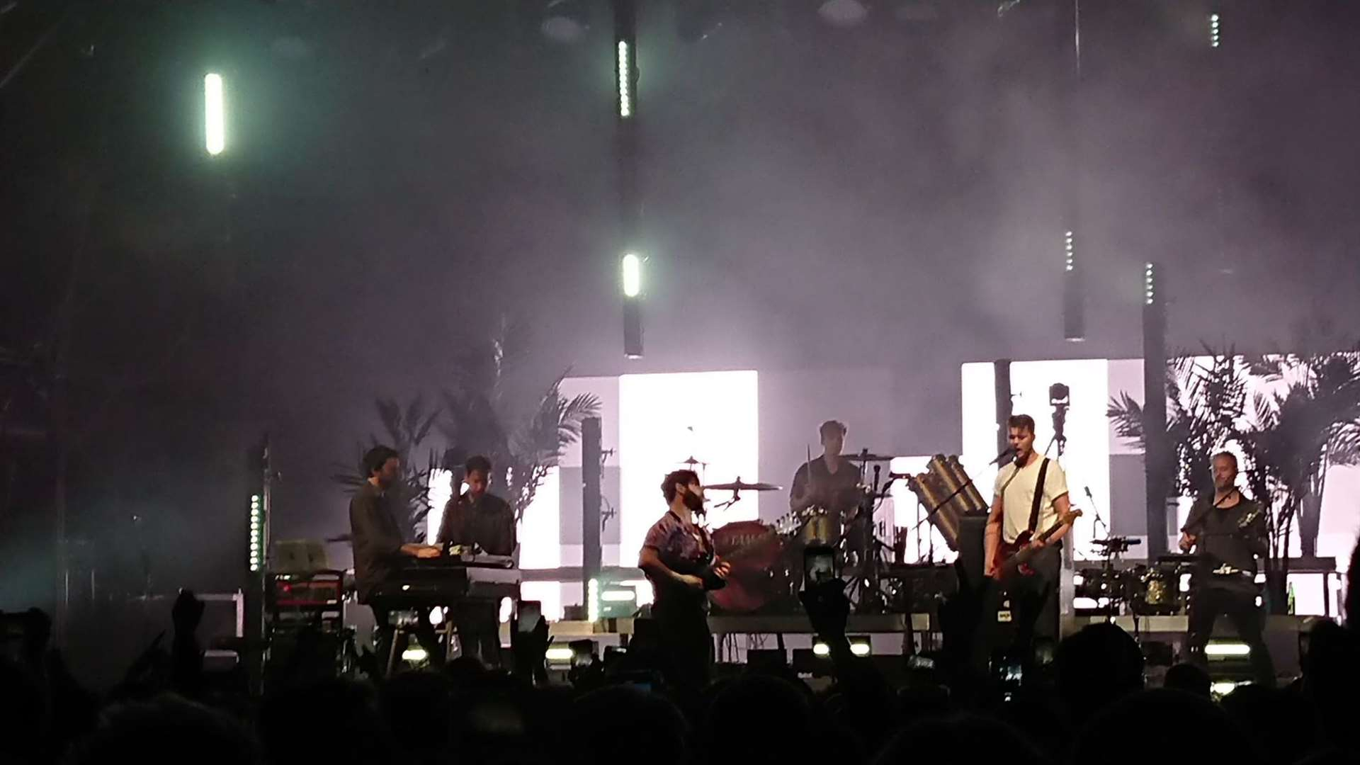 Foals performed in Norfolk as part of their UK tour which takes them to Alexandra Palace next