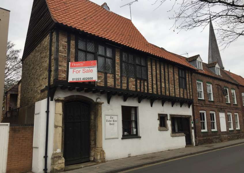 Tudor Rose Hotel us up for sale in Lynn