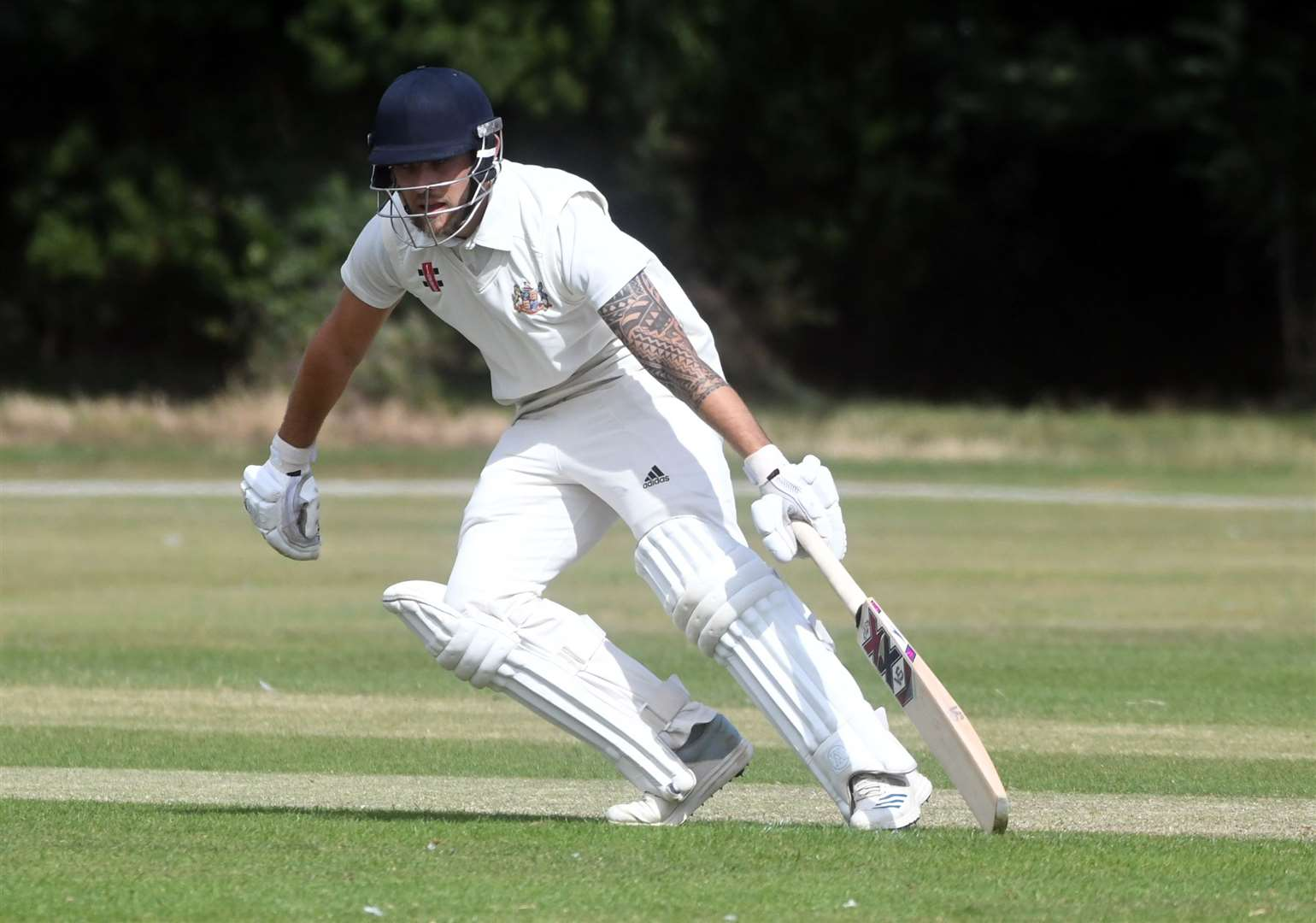 Fakenham v Stow cricket..Lloyd Marshall. (15990976)