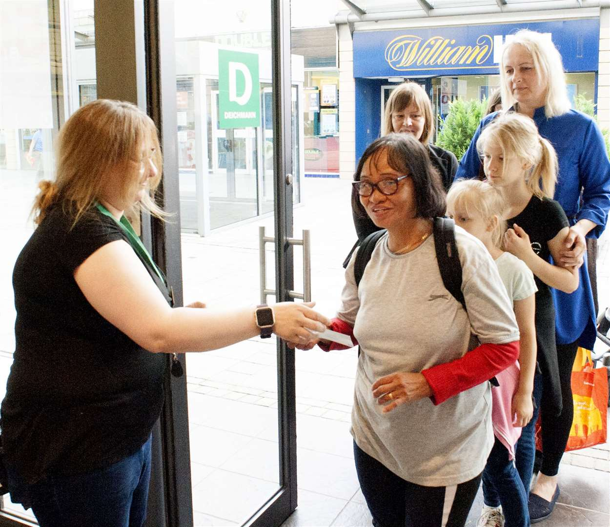 Opening of the Re-Furbished King's Lynn Deichmann Store.. (14858532)