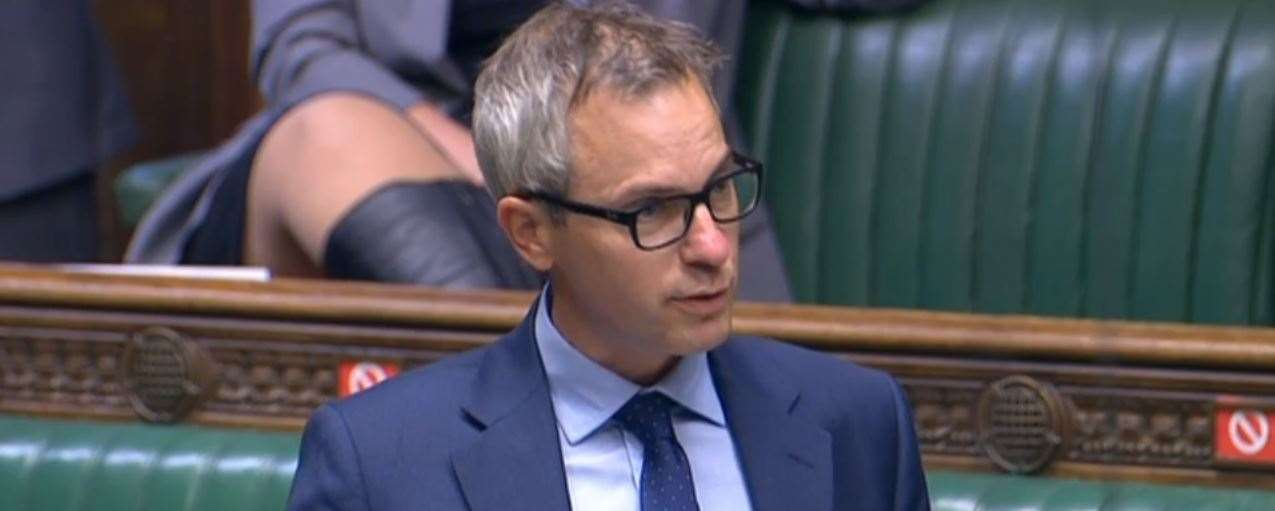 North West Norfolk MP James Wild asking Prime Minister Boris Johnson about the prospect of a nursing college in King's Lynn at PMQs on September 9. (42184686)