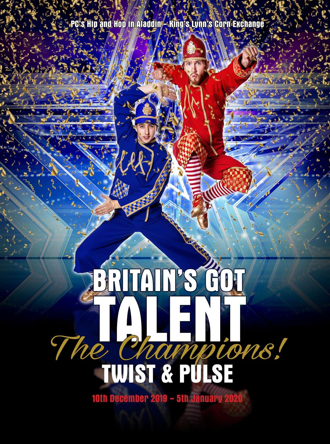 Britain's Got Talent: The Champions winners are starring in the Alive West Norfolk and Jordan Productions pantomime Aladdin, at the Alive Corn Exchange, this year.(18749388)